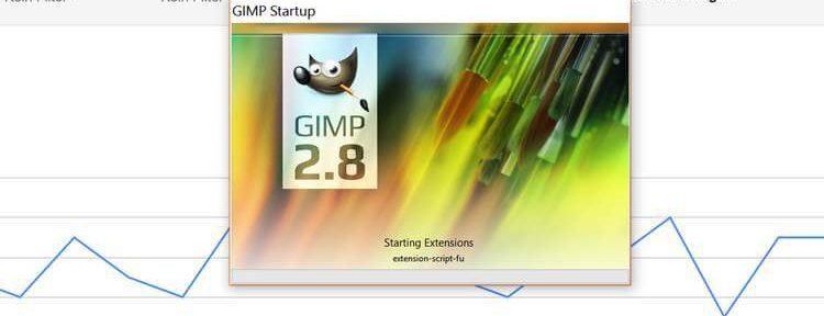 GIMP starte mit Plugins