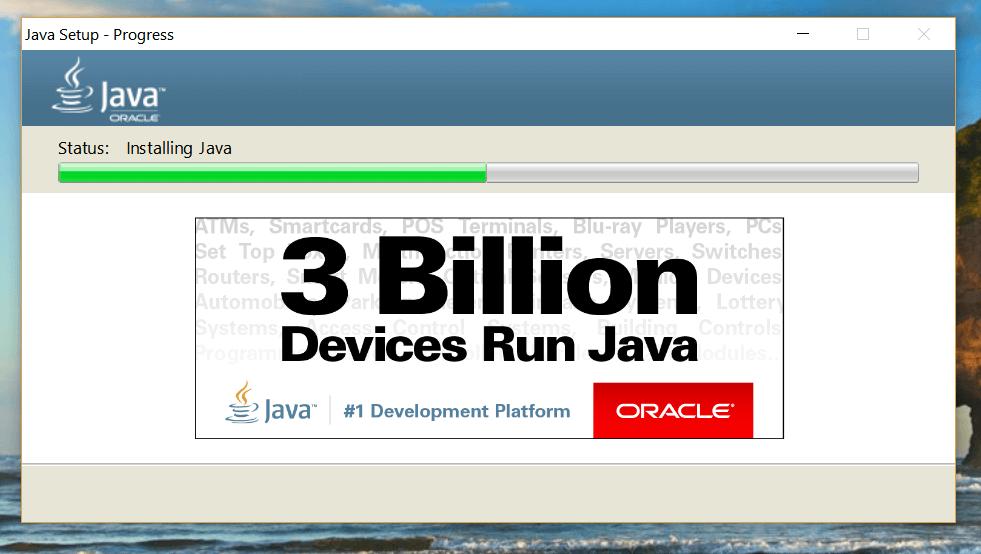 06 Java installieren lassen
